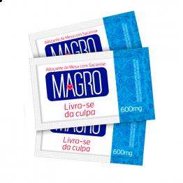 Caixa - Adoçante Magro Tradicional Cartucho 50 x 0,6G