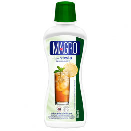 Adoçante Magro com Stevia Líquido 80ml Frente