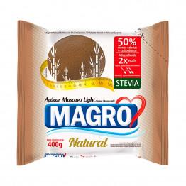 Açúcar Light Magro Mascavo com Stevia 400g