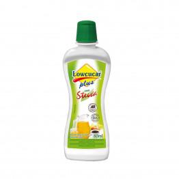 Adoçante Lowçucar Plus com Stevia Líquido 80ml