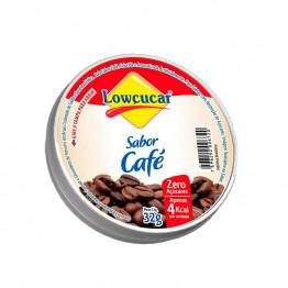 Bala Lowçucar Zero Açúcares Sabor Café Display com 12 Unidades de 32G