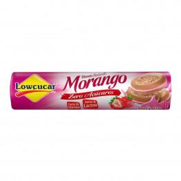 Biscoito Recheado Lowçucar Zero Açucares Sabor Morango 120g