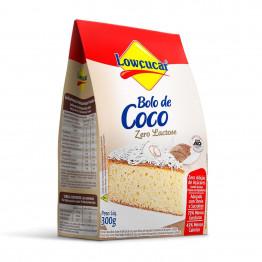 Bolo Lowçucar Sabor Coco 300g