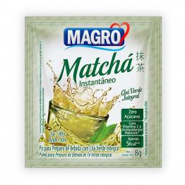 Chá Matchá Magro Zero Açúcares Display com 15 Unidades de 8g