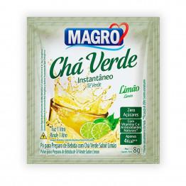 Chá Verde Magro Sabor Limão Zero Açúcares Display com 15 Unidades de 8g