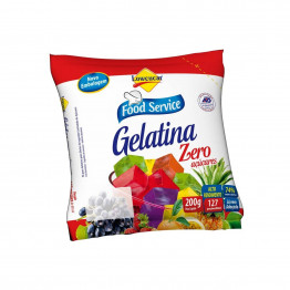 Gelatina Lowçucar Sabor Framboesa Refil 200g