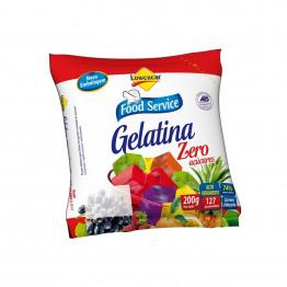Gelatina Lowçucar Sabor Morango Refil 200g