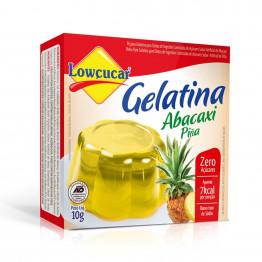 Gelatina Lowçucar Sabor Abacaxi 10g