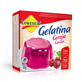 Gelatina Lowçucar Sabor Cereja 10g