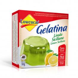 Gelatina Lowçucar Sabor Limão Siciliano 10g
