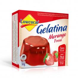Gelatina Lowçucar Sabor Morango 10g