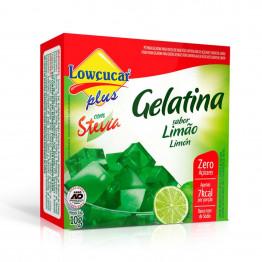 Gelatina Lowçucar Plus com Stevia Sabor Limão 10g