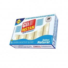 Gli-Instan Lowçucar Sabor Natural Glicose Instantânea display com 12 cartuchos de 5 unid de 15g