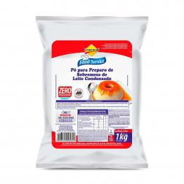 Pó para prep. de Sobremesa de Leite Condensado Lowçucar Zero Adição de Açúcares 1kg