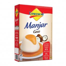 Manjar Lowçucar Sabor Coco Zero Açúcares 45g