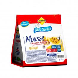 Mousse Lowçucar Zero Açúcares Sabor Maracujá 210g