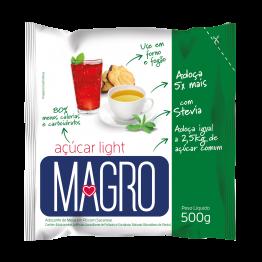 Açúcar Light Magro com Stevia 500g