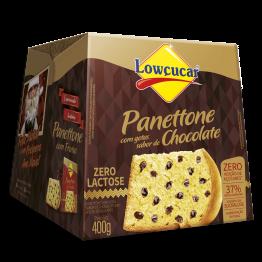 Panettone com Gotas de Chocolate Zero Adição de Açúcares e sem Lactose 400g