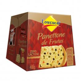 Panettone de Frutas Zero Adição de Açúcares e sem Lactose 400g