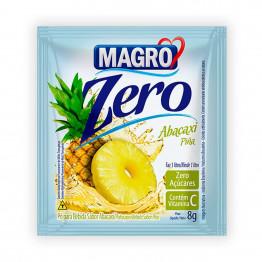 Refresco Magro Sabor Abacaxi Zero Açúcares Display com 15 Unidades de 8g