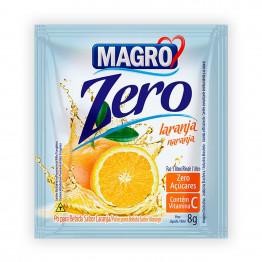 Refresco Magro Sabor Laranja Zero Açúcares Display com 15 Unidades de 8g