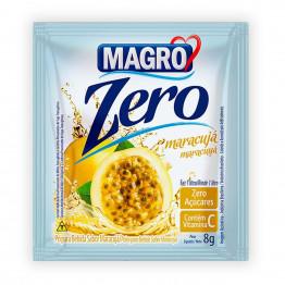 Refresco Magro Sabor Maracujá Zero Açúcares Display com 15 Unidades de 8g