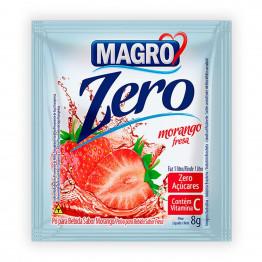 Refresco Magro Sabor Morango Zero Açúcares Display com 15 Unidades de 8g