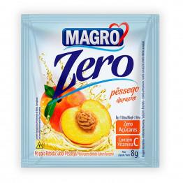 Refresco Magro Sabor Pêssego Zero Açúcares Display com 15 Unidades de 8g