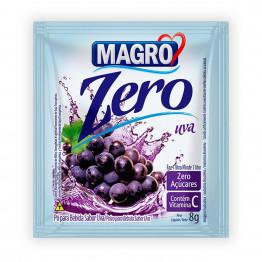 Refresco Magro Sabor Uva Zero Açúcares Display com 15 Unidades de 8g