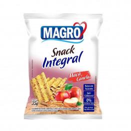 Snack Integral Magro Sabor Maçã e Canela 35g