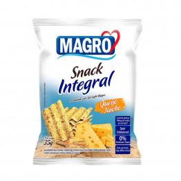 Snack Integral Magro Sabor Queijo Nacho 35g